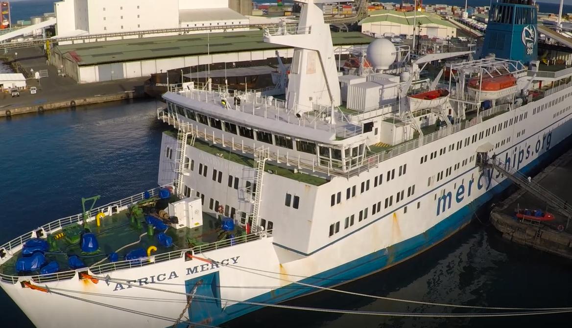 Africa Mercy, Au cœur du plus grand bateau hôpital du monde, bateau-hôpital, Photos