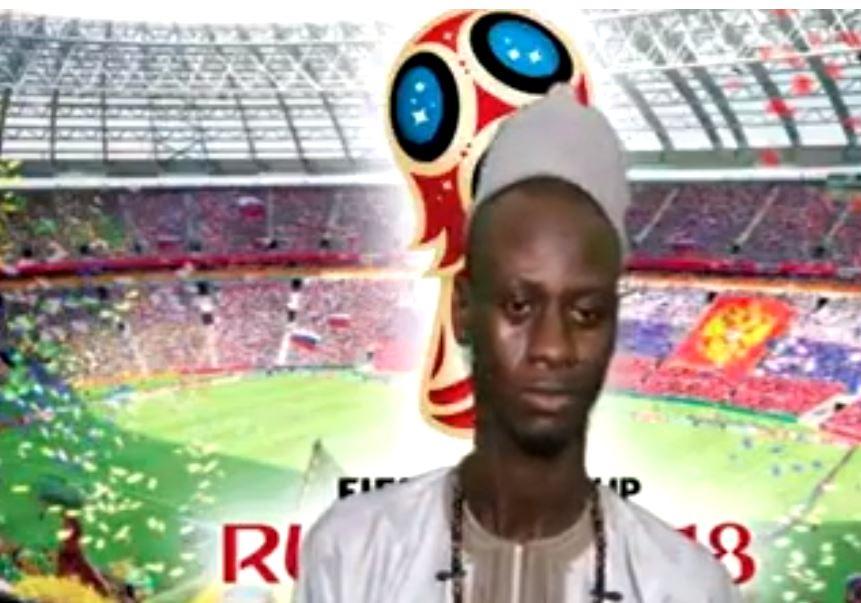 baye Djiby Mbacké, Coupe du monde, macths, prédire