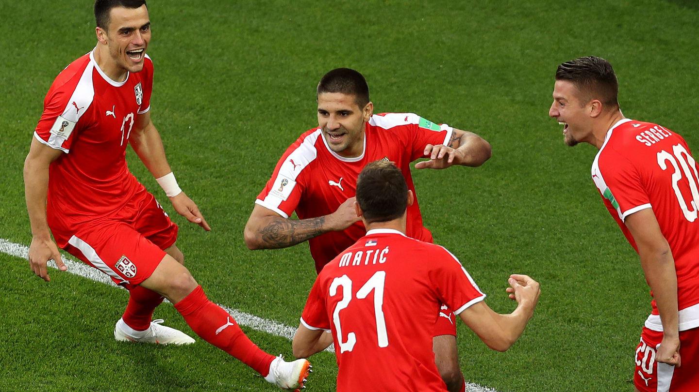 serbie suisse la serbes m 232 nent au score 224 la pause 1 0