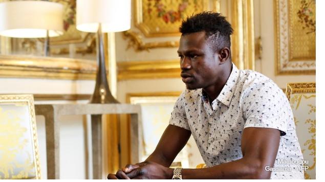 Mamadou Gassama zappe l'émission