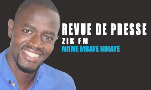 Revue de presse (Wolof) Zik fm du mardi 09 octobre 2018 par Mame Mbaye Ndiaye