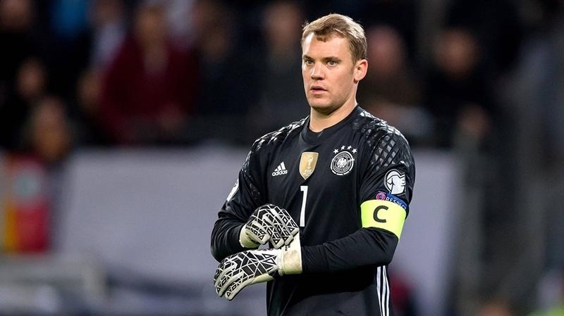 Mondial 2018: Neuer sera bien le gardien titulaire de l'Allemagne, énorme coup dur pour Leroy Sané