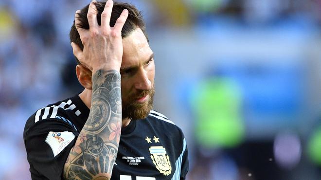 Environ 400 personnes pour l'entraînement public de Messi avec l'Argentine