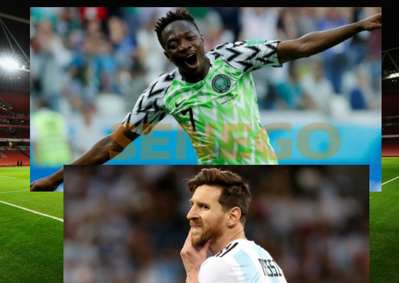 Musa relance le Nigeria... et aide l Argentine