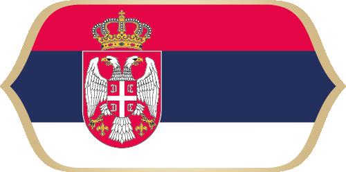 drapaux pays Serbie