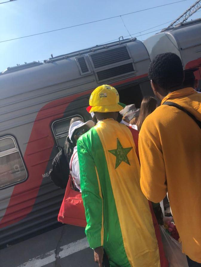 supporters sénégalais russie 2