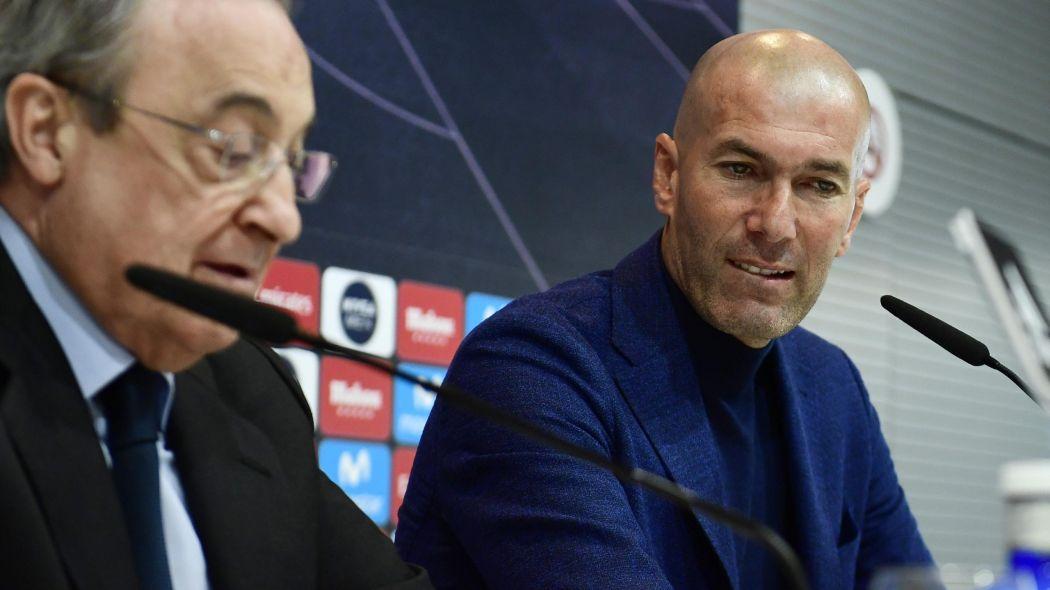 argent, Perez, real Madrid, Zidane