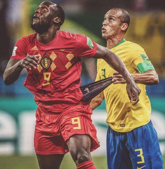 Belgique-Brésil, lukaku, Marquage, Miranda, Mondial 2018