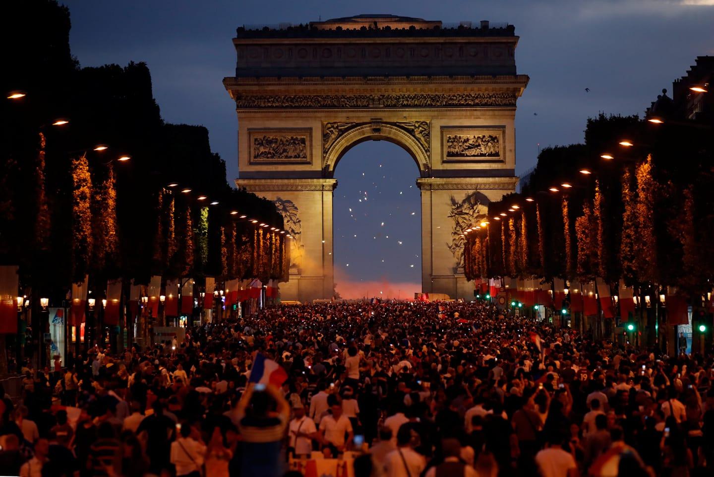 Champs-Élysées, finale, france, Mondial 2018