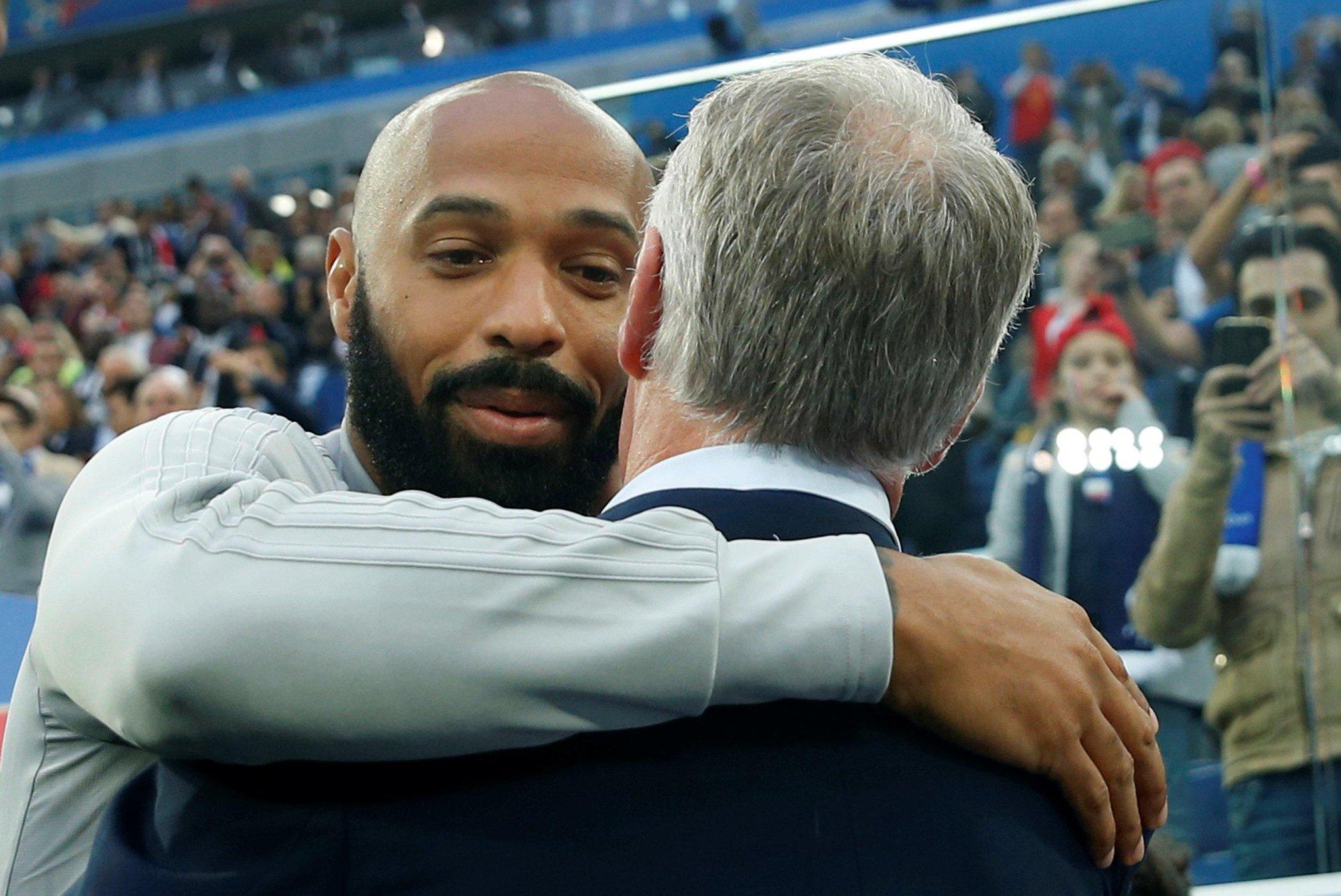 Didier Deschamps, France - Belgique, Thierry Henry