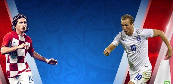 1/2 finale Angleterre/Croatie, Angleterre/Croatie, match Angleterre/Croatie, Mondial 2018, Russie 2018, vidéo Angleterre/Croatie