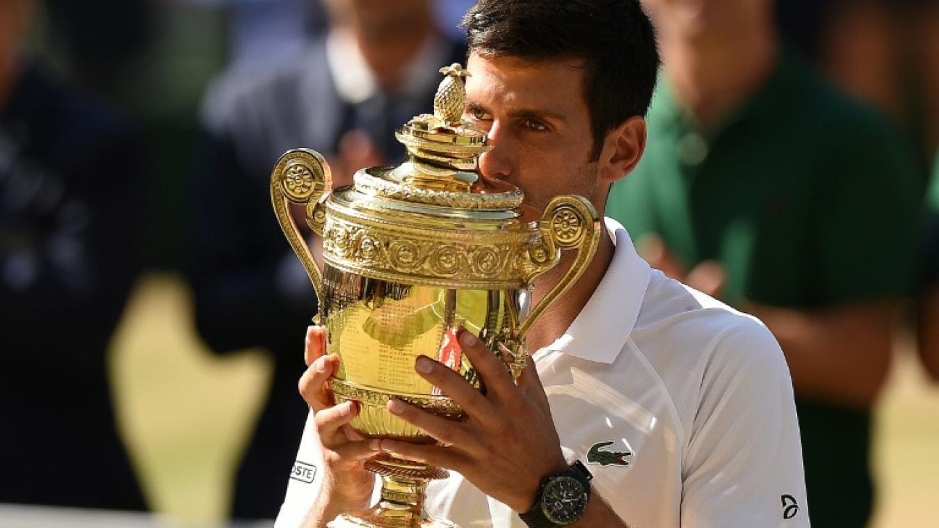 4e titre, Djokovic, Wimbledon