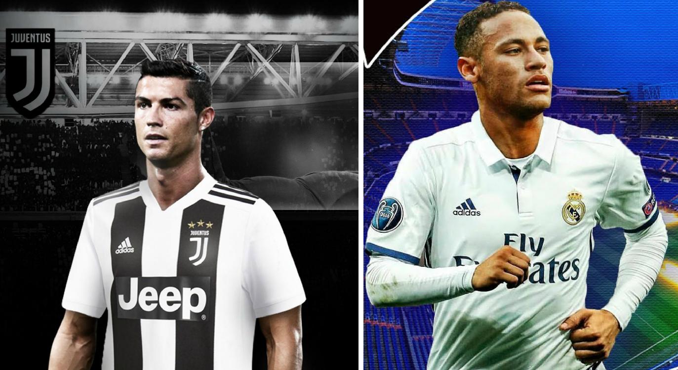 Cristiano Ronaldo, Neymar, real Madrid