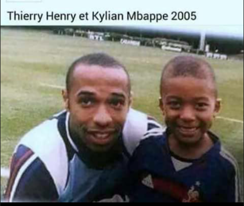 Mbappé, Thierry Henry