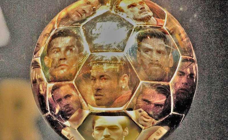 Ballon d'or, Messi, Neymar, ronaldo