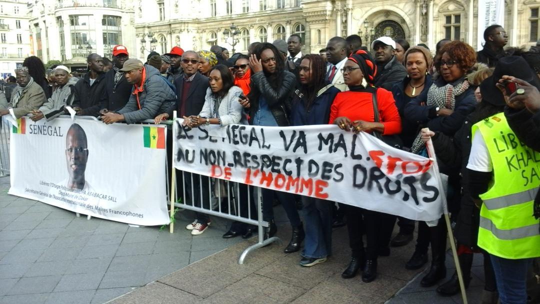 demain, opposition manifeste, Paris, régime de Macky Sall