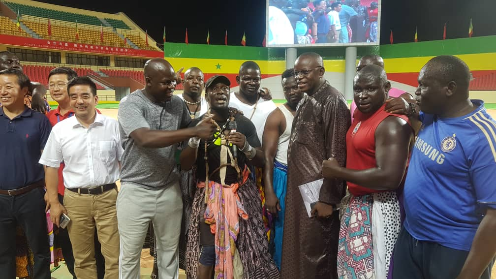 Arène nationale, combat, Lutte, lutte senegalaise, lutteurs sénégalais, Matar Ba, photos lutteurs