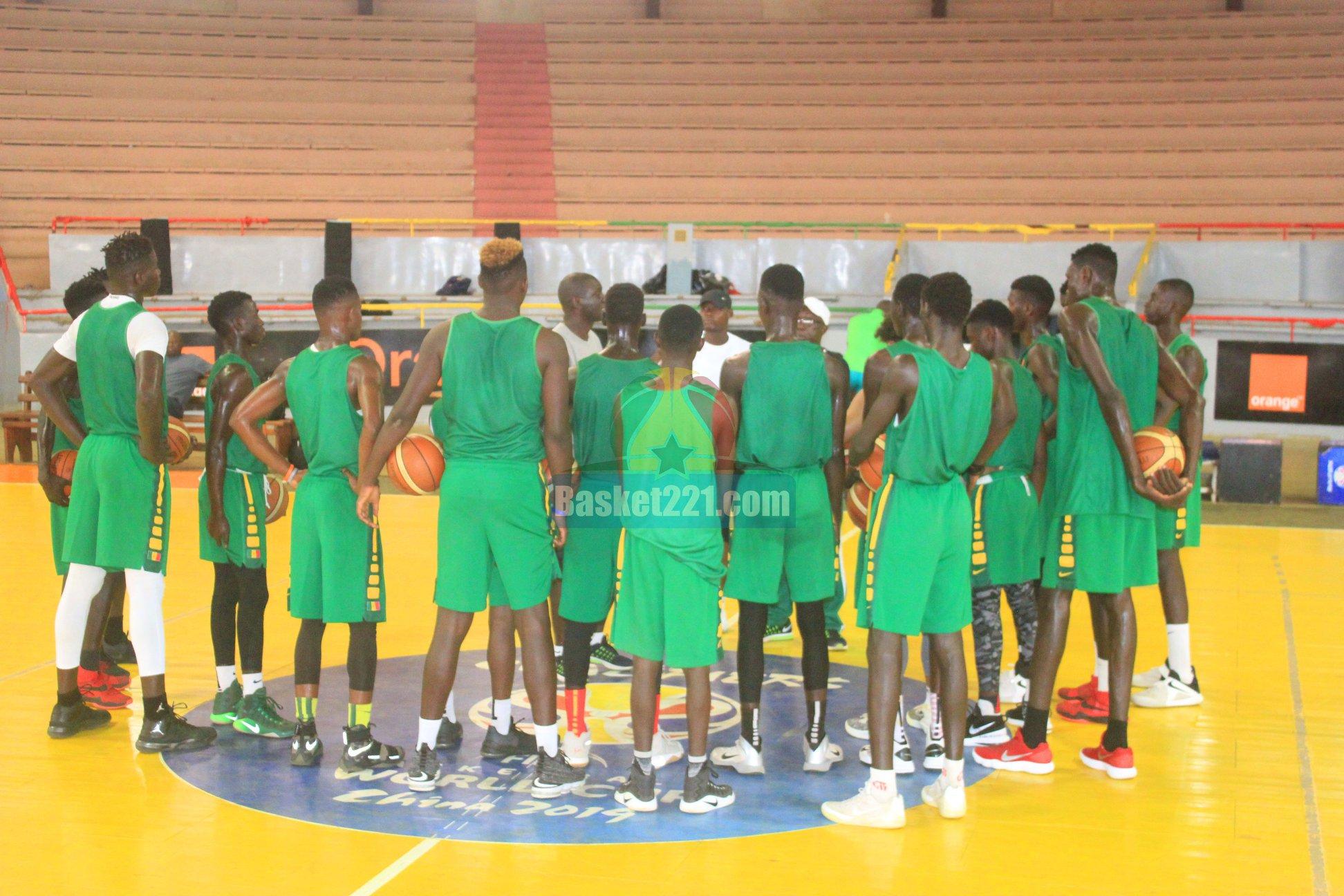afrobasket U18, basket sénégal, entrainement équipe nationale, entrainement sénégal, équipe nationale, lionceaux, lions u18, Sénégal