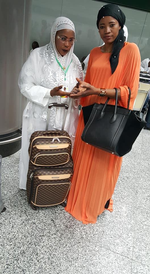 Photos: La député Mame Diarra Fam à la Mecque pour le pèlerinage