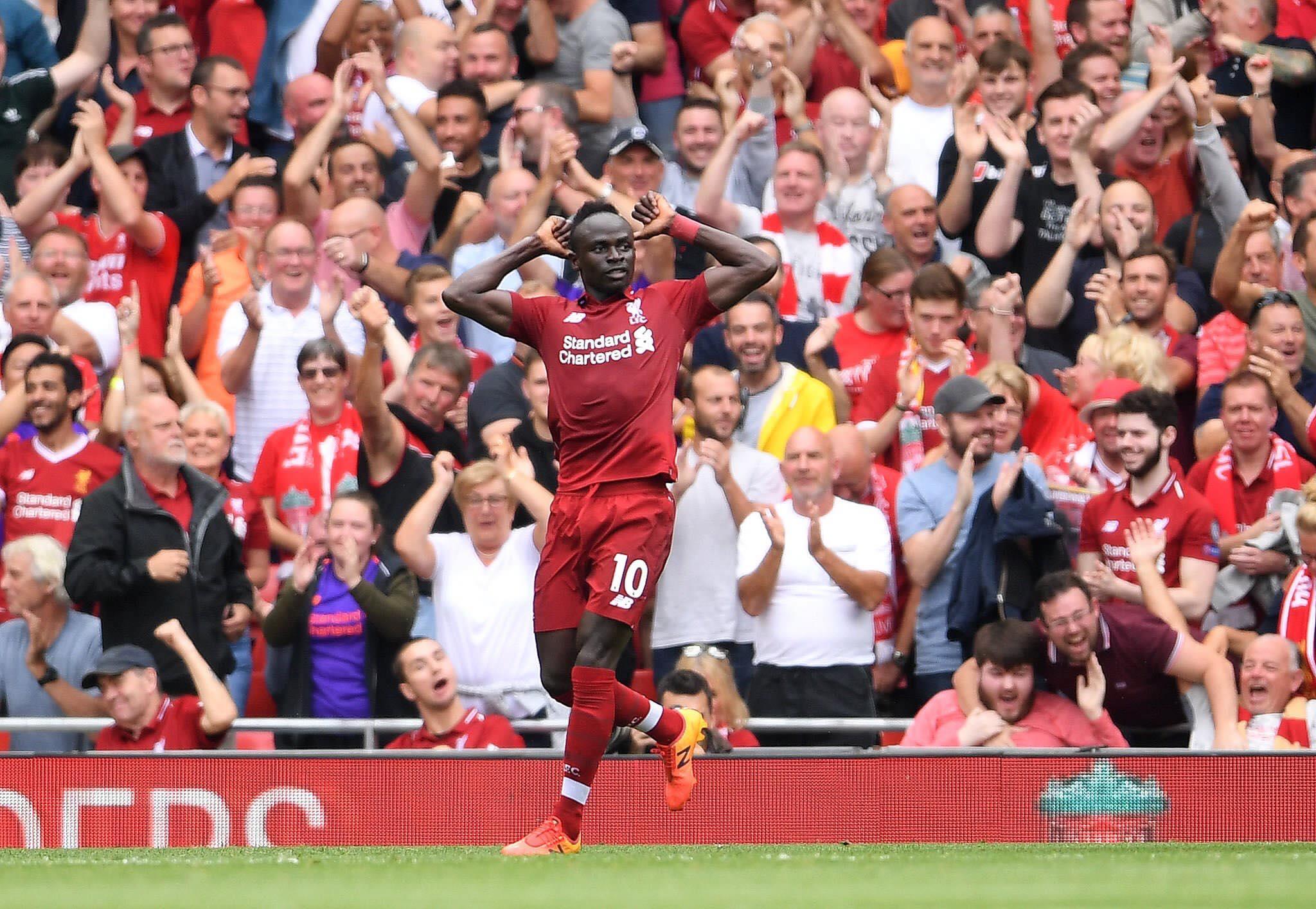 Mohamed Salah frappe déjà — Premier League
