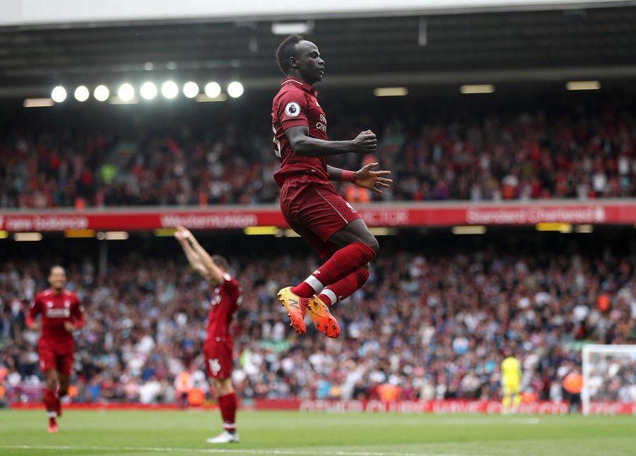 Sadio Mané égale le record de John Barnes — Liverpool