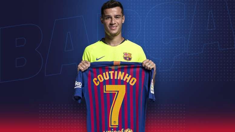 Barcelone, Coutinho, Numero