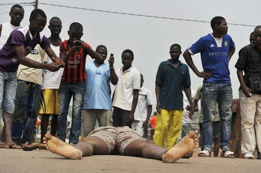 chiffres, crime, Criminalité au Sénégal