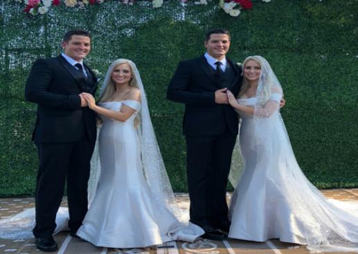 États-Unis: 2 couples de jumeaux se marient dans une même cérémonie et se promettent…