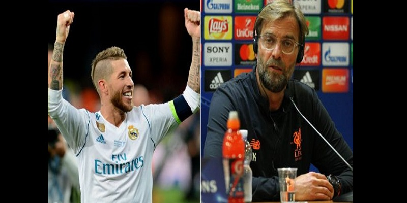 Football, Klopp, Liverpool, Salah, Sergio Ramos, Sports