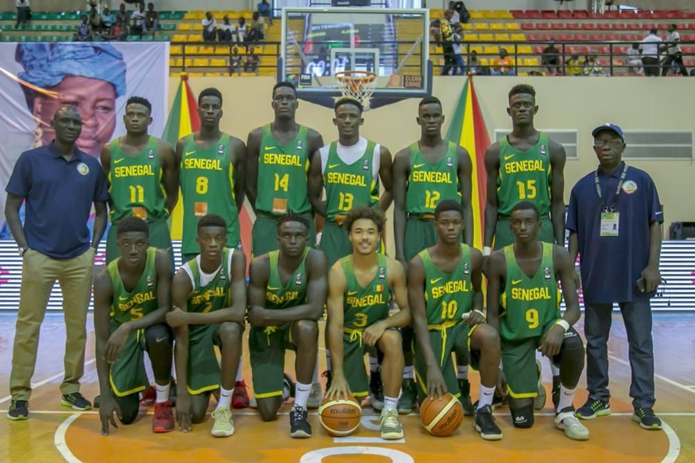 afrobasket masculin U18, basket sénégal, lionceaux du sénégal, Sénégal, Sénégal-Algérie