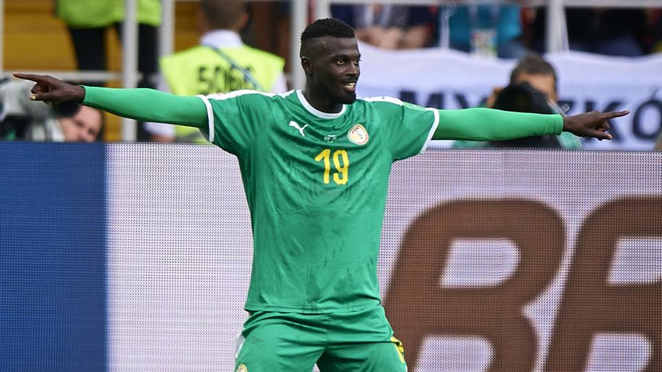but de Mbaye Niang, Can 2019, équipe nationale, Lions du Sénégal, Mbaye Niang, Sénégal