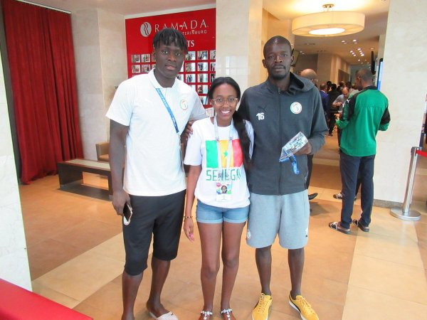 Aliou Cissé, Kara Mbodj, Khadime Ndiaye, zappés