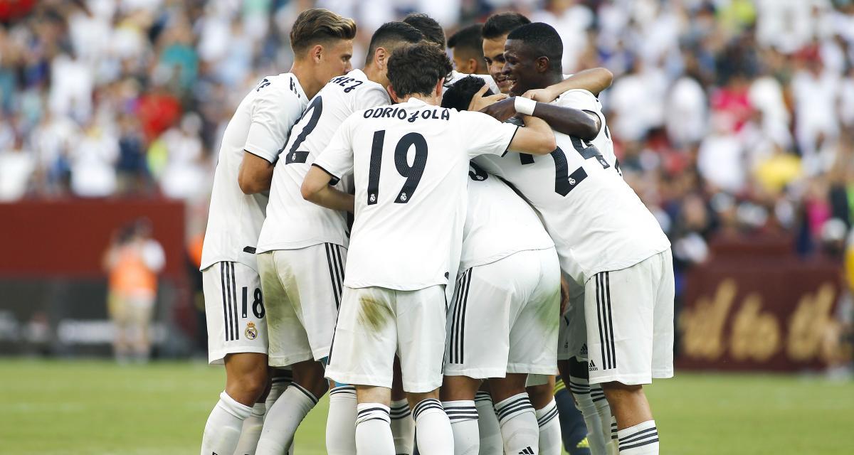 Benzema participe à la victoire du Real en amical