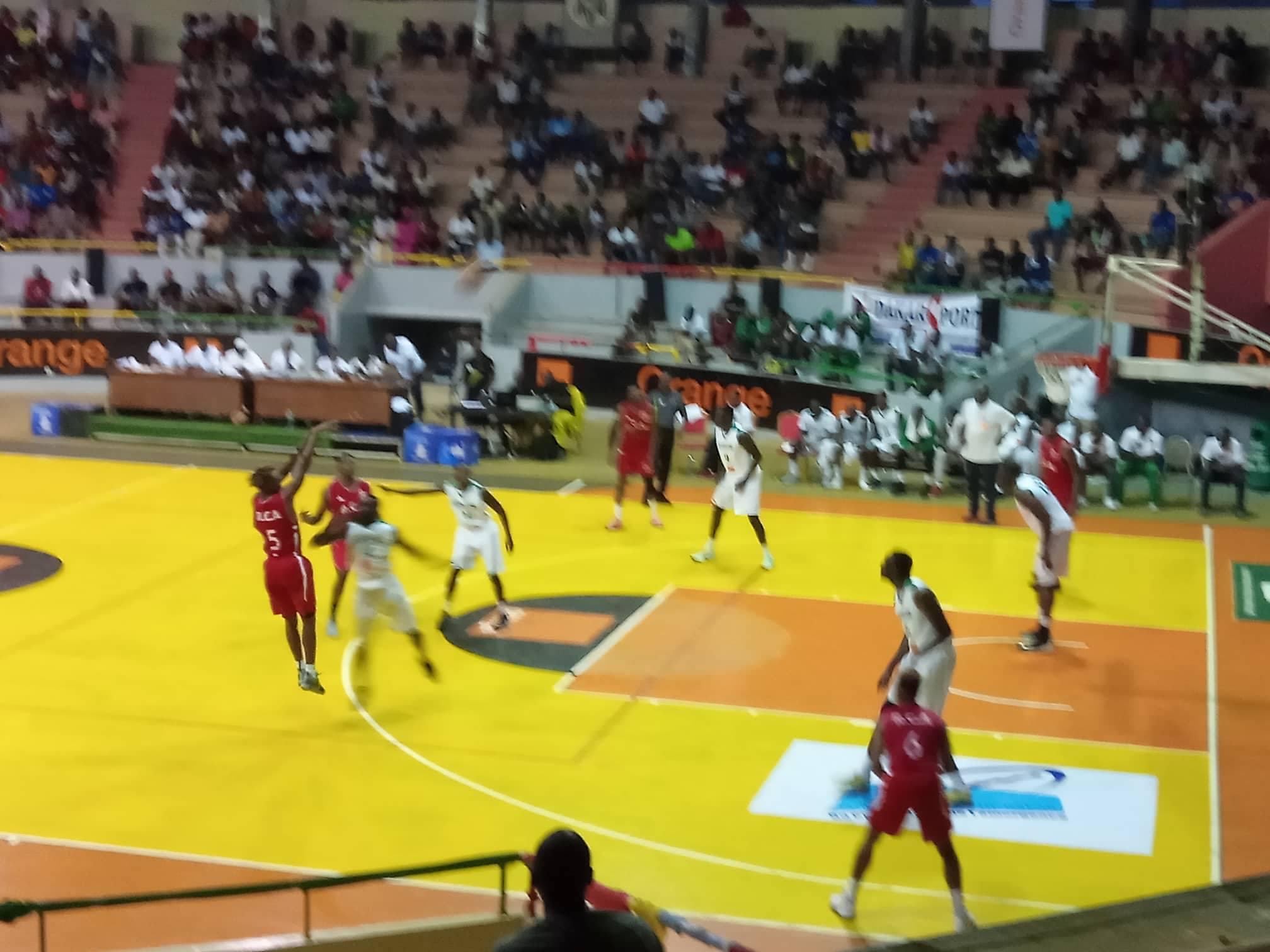 Amical, Basket, RCA, Sénégal