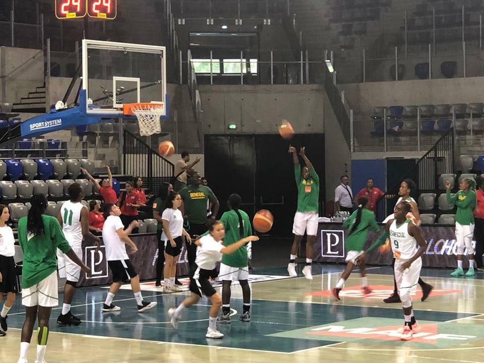 Basket, basket sénégal, lionns du basket, Sénégal, sénégal / usa, tournoi de antibes