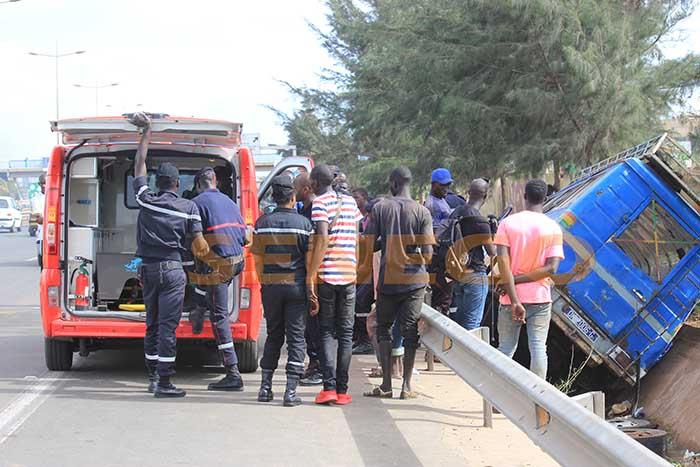 accident, Dakar, Linguère