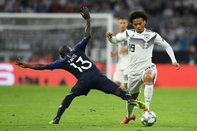 Allemagne, Leroy Sané, regroupement, selection