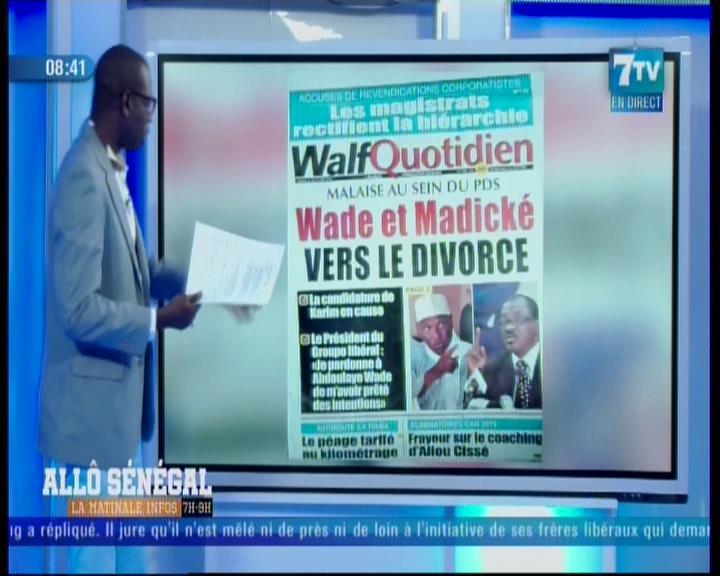 Revue de presse (Woof) 7TV du mardi 11 septembre 2018 par Mouhamadou Bitèye