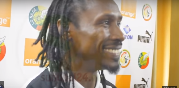Aliou Cissé, Demba Ba, équipe nationale