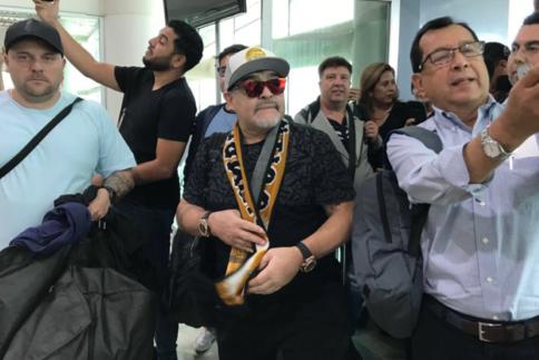Diego Maradonna, Football, Mexique, Sports