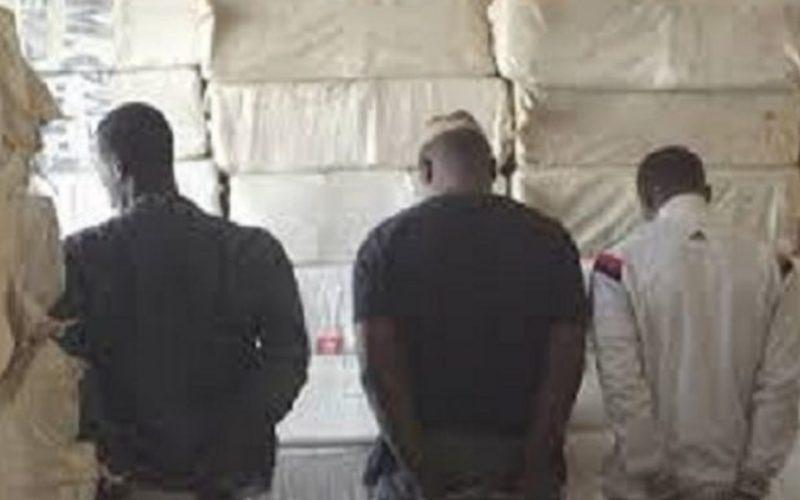 Arrêtés, drogue, trafiquants, trois présumés