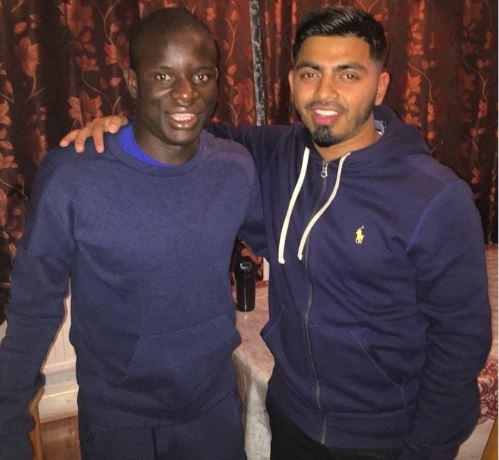 N'Golo Kanté : sa surprenante soirée avec des supporters anglais!
