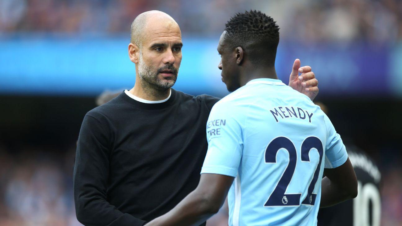 Pep Guardiola recadre Benjamin Mendy — Manchester City