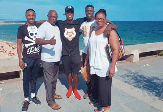beaux moments, Diao Baldé Keïta, en famille