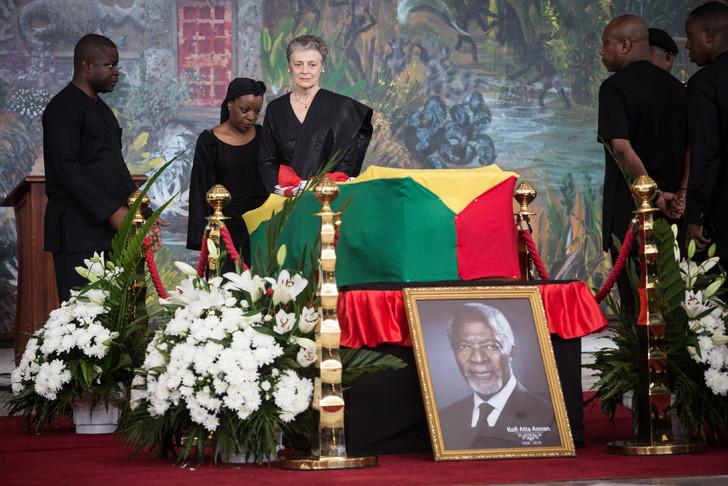 funérailles nationales, Ghana, kofi annan