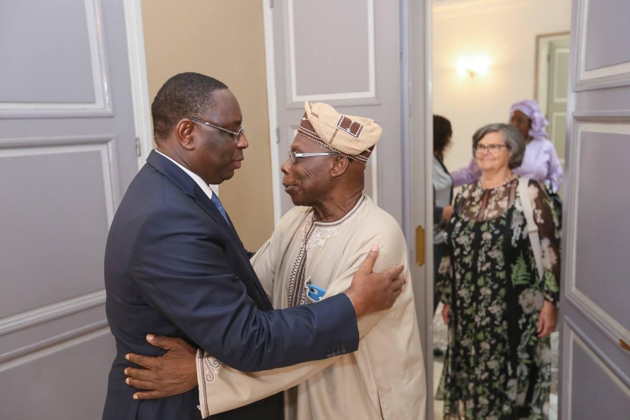Macky Sall, Président Obasanjo