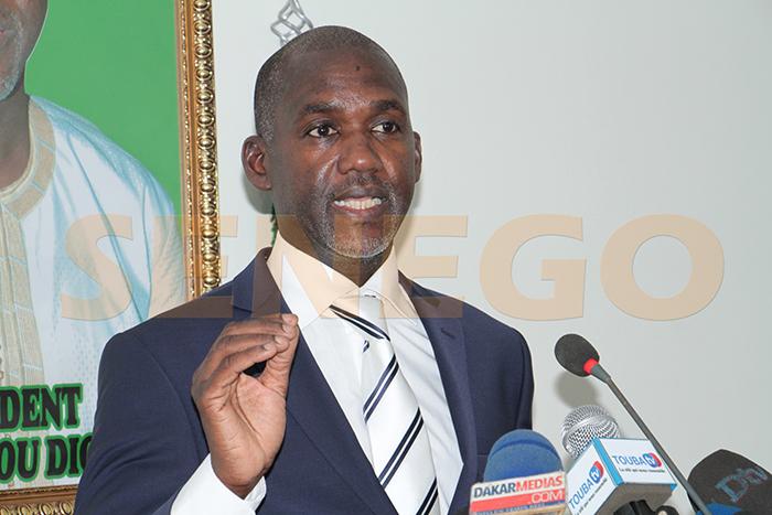 Mamadou Diop, Présidentielle 2019