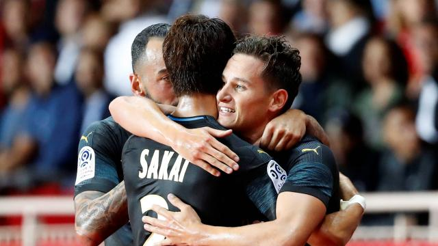 International : Ligue 1 : L'OM s'impose sur le fil face à Monaco