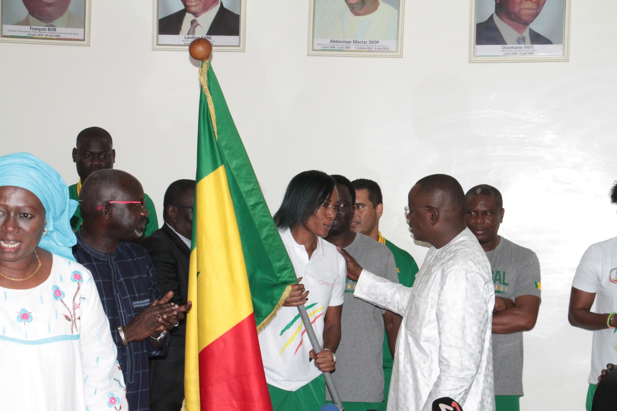 CDM Basket, Lionnes, Liste, Sénégal