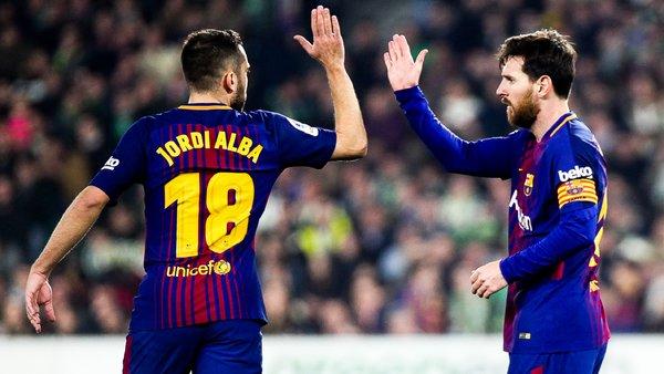 Alba, Barcelone, hommage, Messi